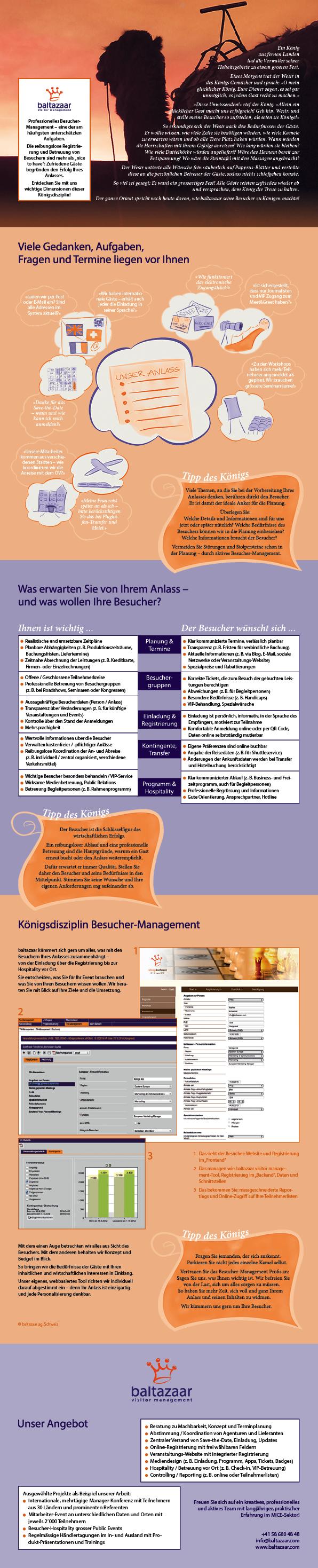 baltazaar visitor management - Die Geschichte des Königs (PDF laden)